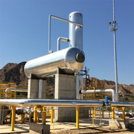 TÜRKERLER 24 MW JEOTERMAL ENERJİ SANTRALİ ANAHTAR TESLİM YALITIM PROJESİ